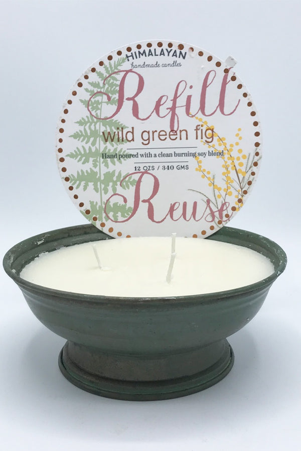Floataway Bowl Candle - Zero Point Crystals