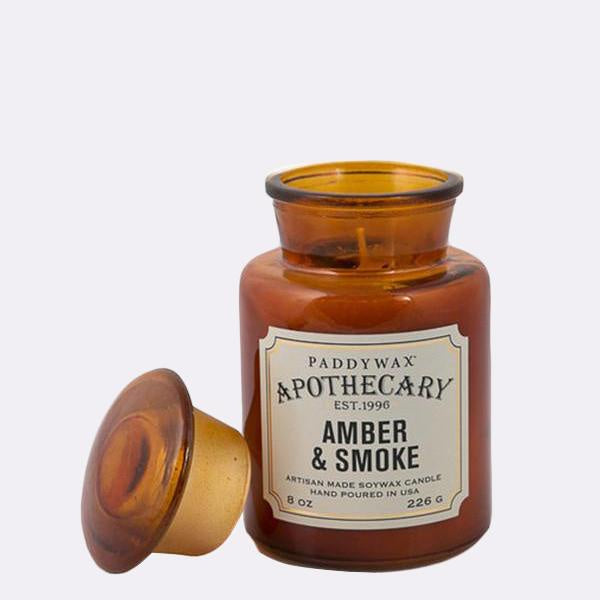 Amber Smoke Candle - Zero Point Crystals