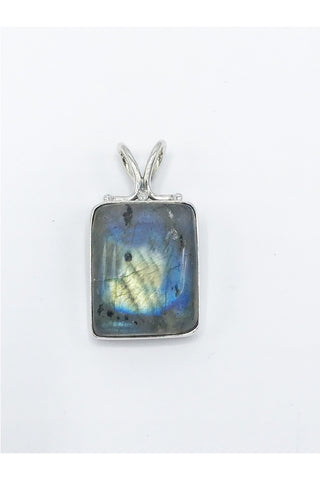 Labradorite or Moonstone Pendant - Zero Point Crystals