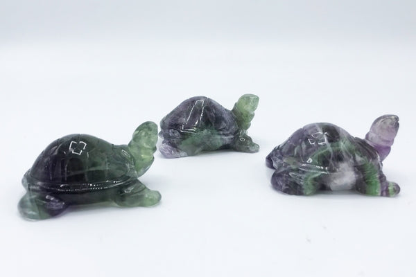 Fluorite Turtle - Zero Point Crystals