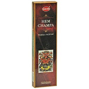 Hem Champa Incense - Zero Point Crystals