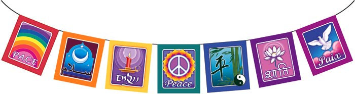 Peace on Earth Flags - Zero Point Crystals
