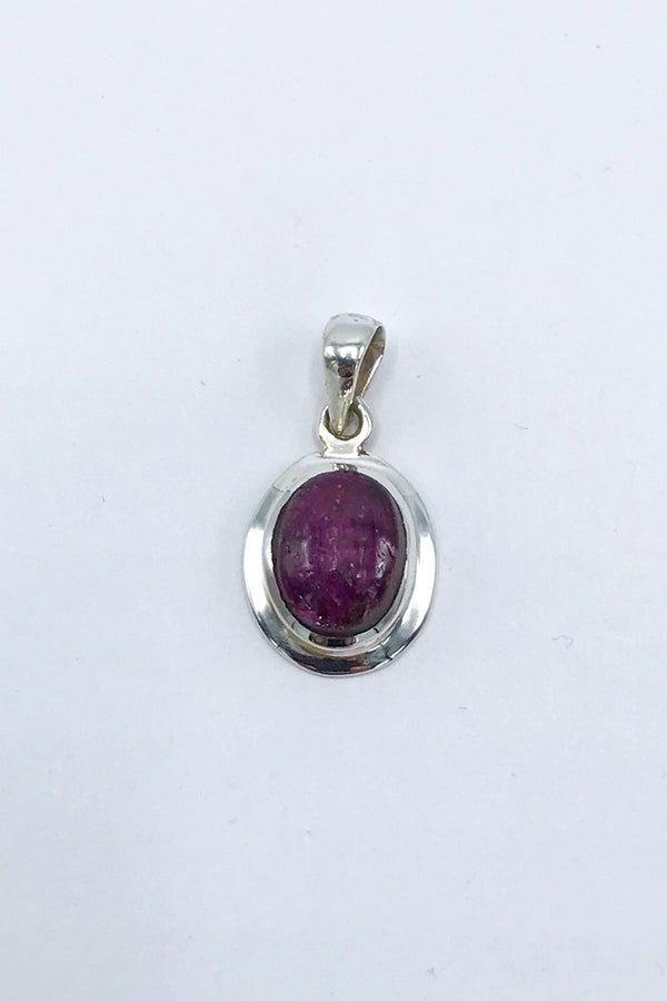 Star Ruby Pendant - Zero Point Crystals