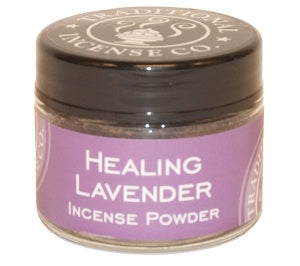 Healing Lavendar Powder - Zero Point Crystals