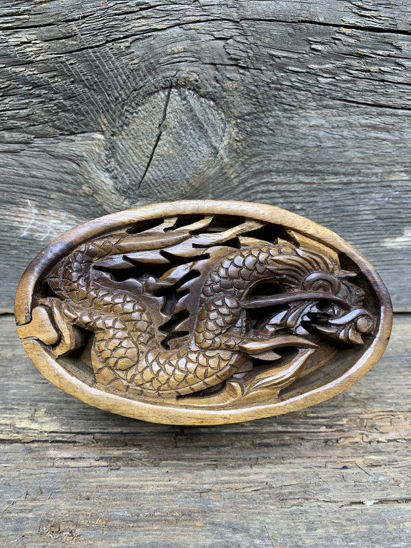 Dragon Cut Out Puzzle Box - Zero Point Crystals