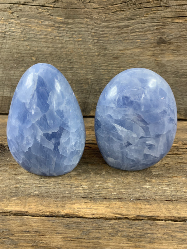 Blue Calcite Freeform - Zero Point Crystals