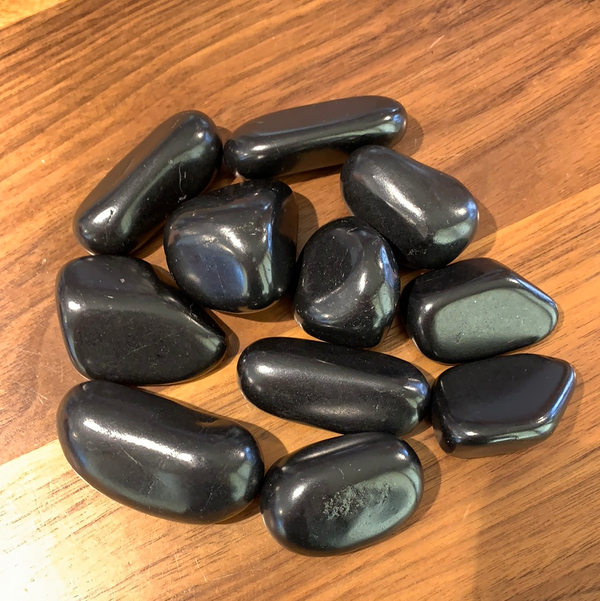 Tumbled Shungite - Zero Point Crystals