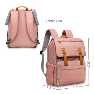 Laptop Diaper Backpack (Pink)