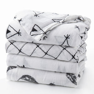 muslin swaddle blanket bamboo soft