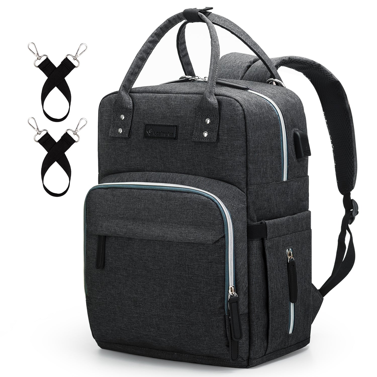9672a10ae Diaper Bag Backpack Upsimples Multi-Function Maternity Nappy Bags for Mom    Dad