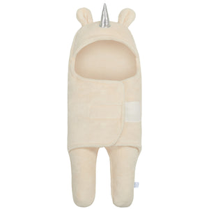 Unicorn Swaddle Wrap Baby Sleeping Bag |  Beige (0-6 Months)