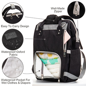 Diaper Bag (Black)