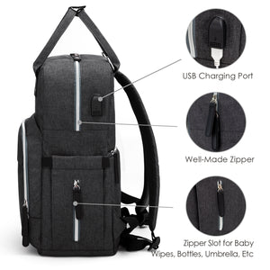 Original Travel Diaper Backpack | Dark Gray (3 colors)