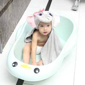 Elephant Baby Bath Towels