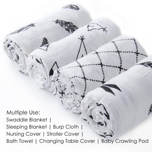 muslin swaddle blanket multi-use