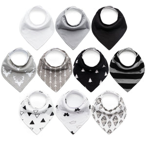 bandana bibs for boys plain set ins photos