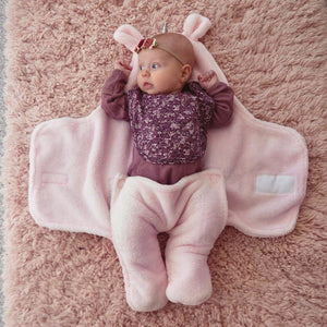 Unicorn Swaddle Wrap Baby Sleeping Bag | For Girls (0-6 Months)