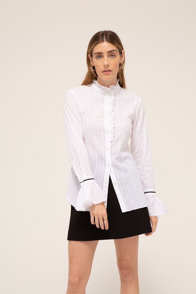 Lauren Shirt, 100% cotton, made in the USA.