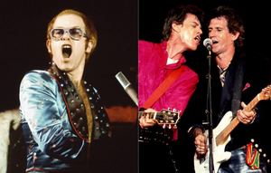WW BLOG -  HOW ELTON JOHN HIJACKED  A STONES GIG