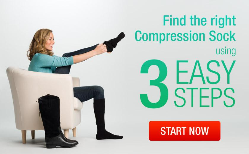 Find the right compression sock