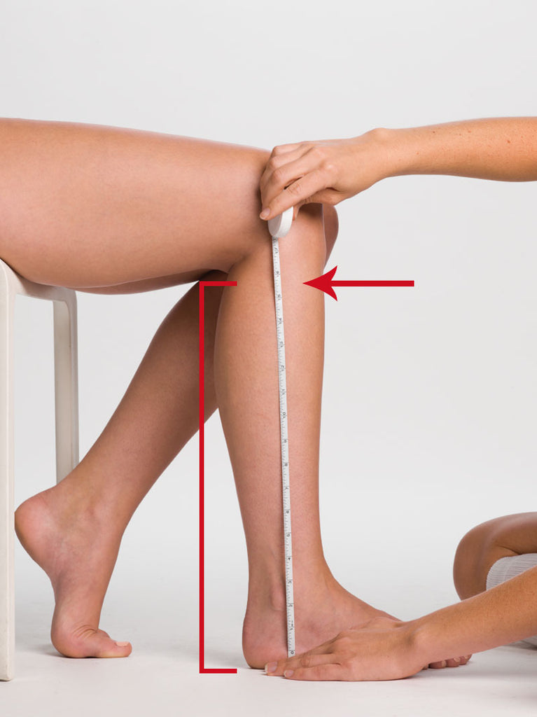 Measure length to knee