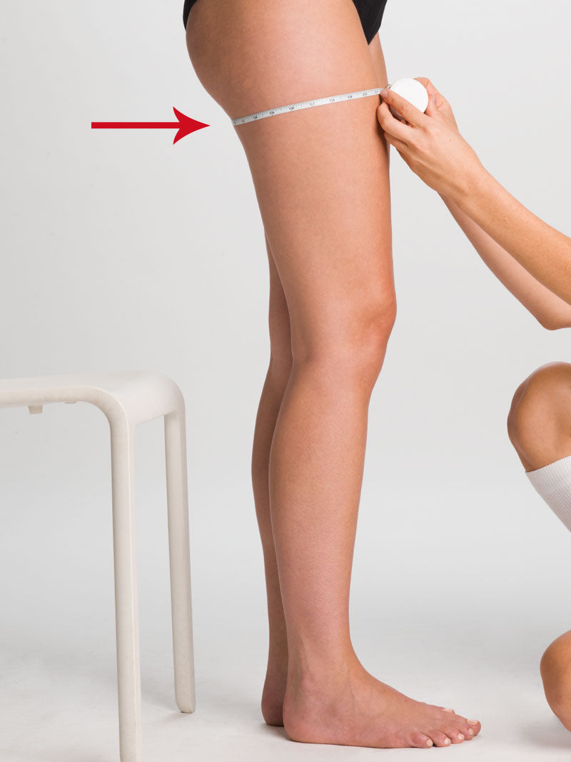 Thigh measurement for compression stockings