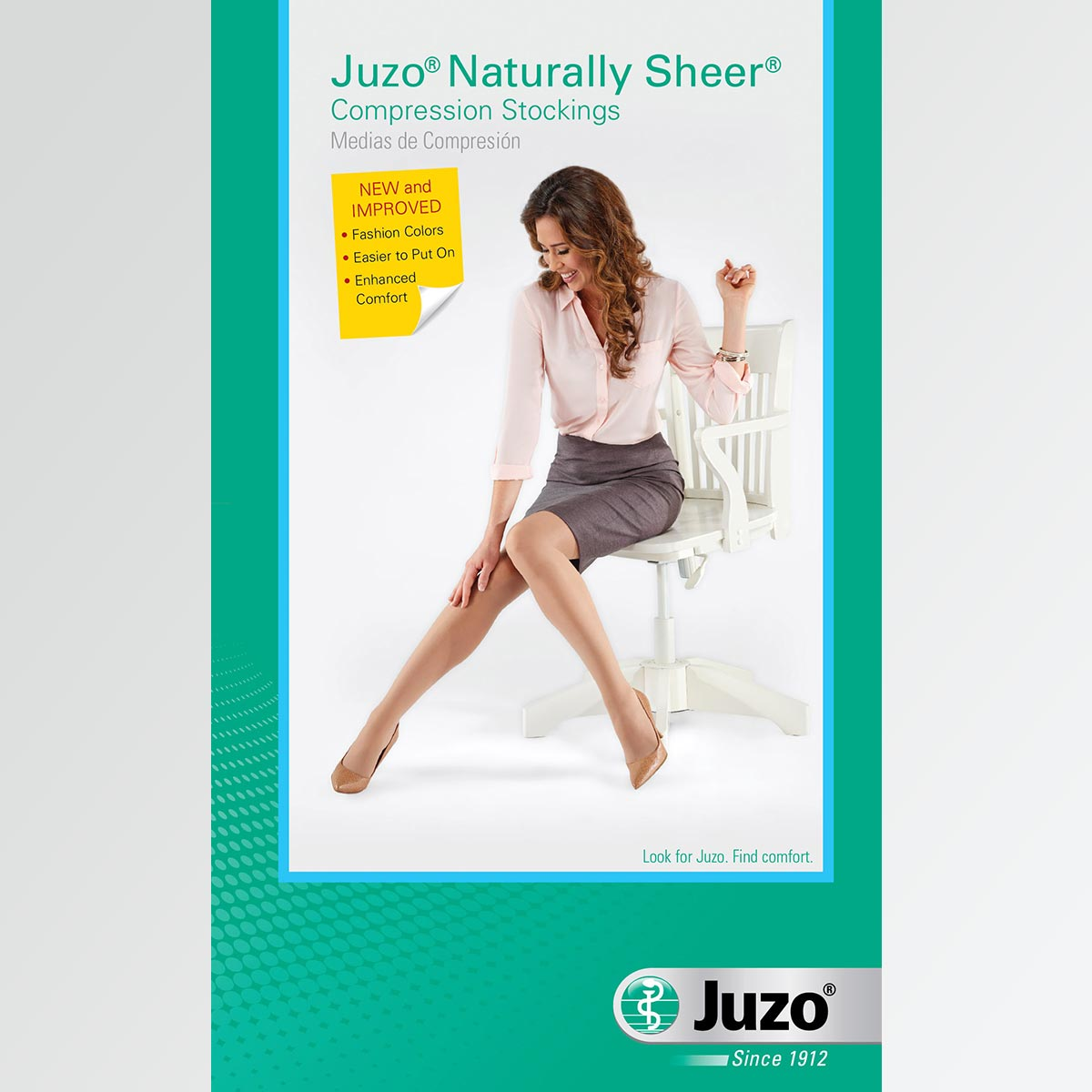 Juzo Naturally Sheer Compression Stockings