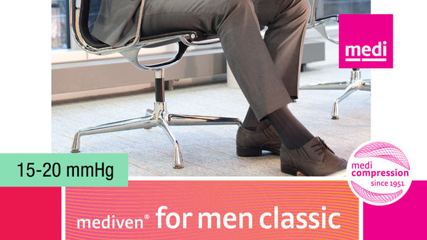 Mediven For Men Classic Knee 15-20 mmHg