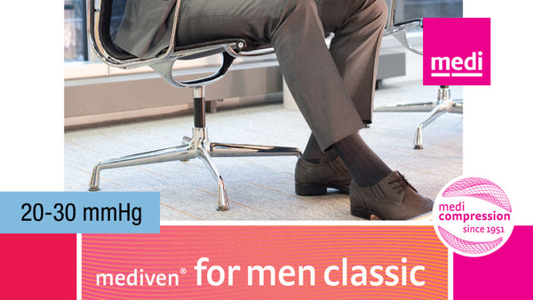 Mediven For Men Classic Knee 20-30 mmHg