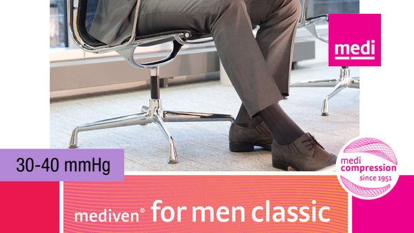 Mediven For Men Classic Knee 30-40 mmHg