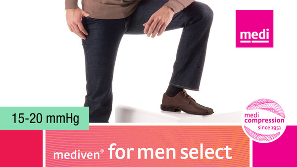Mediven For Men Select Knee 15-20 mmHg