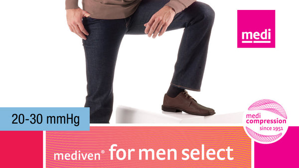 Mediven For Men Select Knee 20-30 mmHg