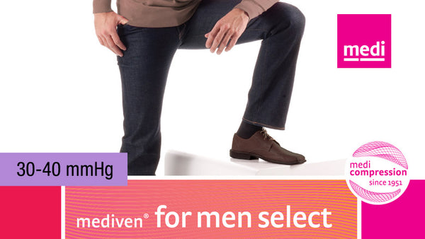 Mediven For Men Select Knee 30-40 mmHg