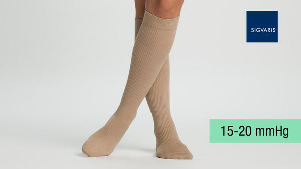 Sigvaris Casual Cotton Knee 15-20 mmHg