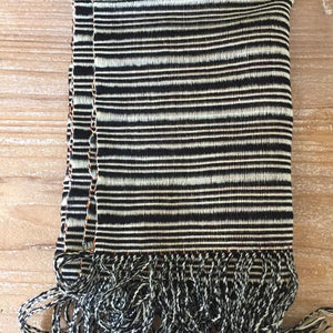 Artisan made Checkered Bhutanese Scarf - Mystic World Finds