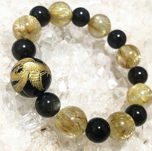 Customized Crystal Beads Energy Bracelet  - Mystic World Finds