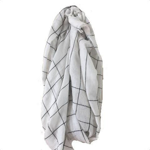 Super Soft White Baby Yak Wool Scarf Shawl - Mystic World Finds