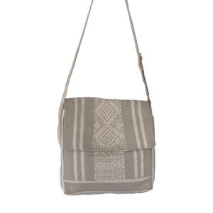 square woven crossbody camera travel bag - mystic world finds