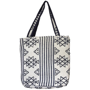 Bhutanese Tribal Yak Wool Tote - Mystic World Finds