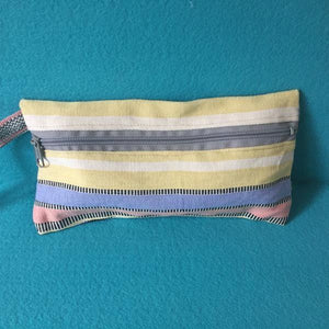 Pencil case cotton lined zippered - Mystic World Finds