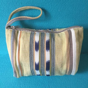 Wristlet makeup bags, cosmetic cases and travel makeup bags cotton lined zippered - Mystic World Finds