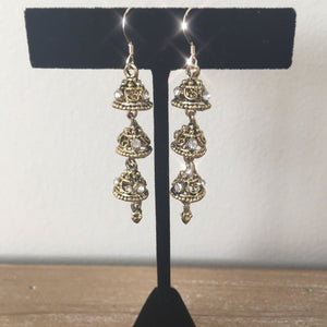 jhumka jhumki statement earrings