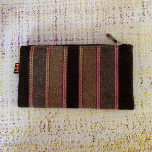 natural dye wool coin purse oaxaca