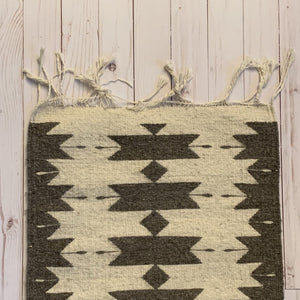 artisan made Zapotec Gray and Cream Rug online