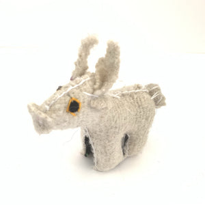 Chiapas Animals Animalitos Small Handmade Woolen Animal Pig Chiapas - Mystic World Finds