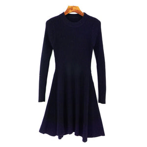 Iris Long Sleeve Sweater Dress