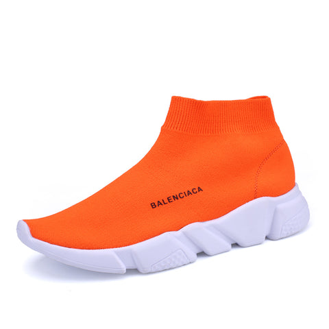 Plus size 36-44 popular young women boots fashion breathable spring and summer Brand Sneaker Comfortable light casual shoes