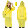 Long Raincoat With Schoolbag Expansion