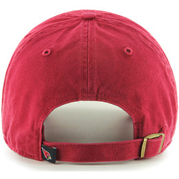 Arizona Cardinals NFL Unstructured Large Baseball Caps fits Sizes 3XL-4XL back view
