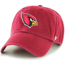 Arizona Cardinals NFL Unstructured Large Baseball Caps fits Sizes 3XL-4XL
